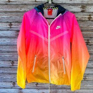 Nike Full-Zip Sunset Windrunner Jacket XS